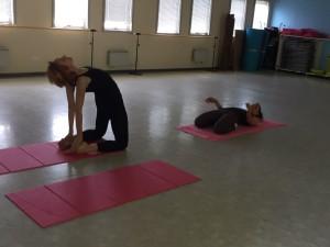 yoga al femminile