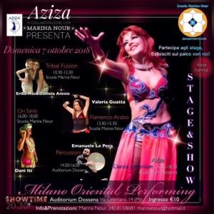 oriental performing 2018
