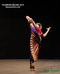 Roberta Cavicchioli Bharata Natyam